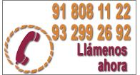 Llámenos ahora al teléfono 918081122