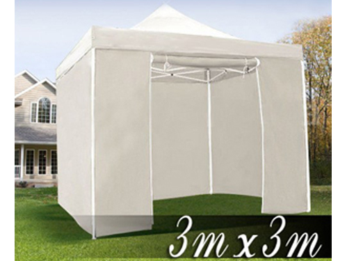 Alquiler de carpa plegable 3x3 en color blanco
