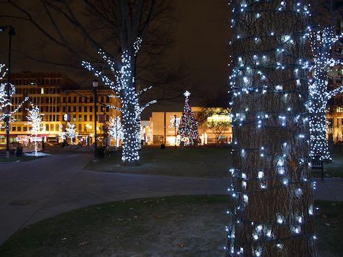 Cascadas de luces led car mbano blanco cable verde for Cortina de luces led