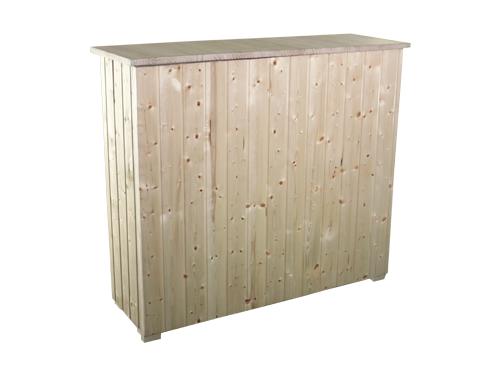 Alquiler de barras de madera de pino for Bar de madera de pino