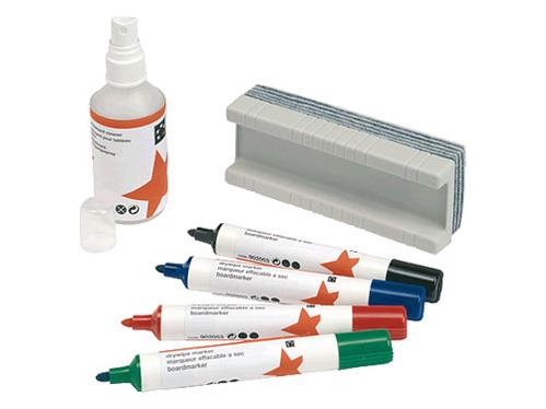 Alquiler de kit de rotuladores y borrador para pizarra flipchart
