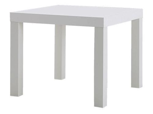 Alquiler de mesa centro cuadrada color blanco