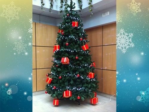 Alquiler de rboles de navidad de 3 metros para uso interior for Arbol interior