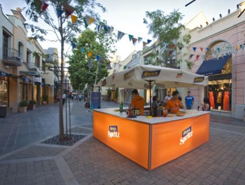 barras de bar con iluminación y personalizadas para eventos