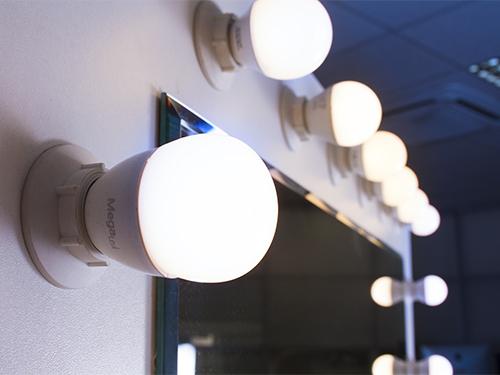 Alquiler de espejos tocador de maquillaje con luz - Espejo con bombillas ikea ...