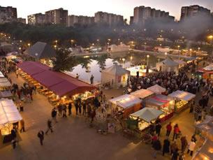 Mercado medieval conmemorativo del 800 aniversario del Cantar del Mio Cid.