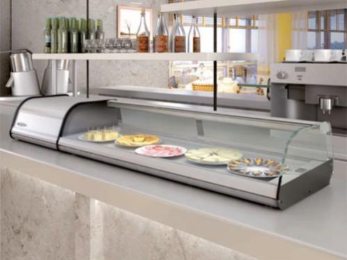 Alquiler de vitrinas para tapas y platos preparados - Mostradores de bar ...