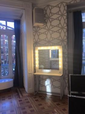 Alquiler de espejos tocador de maquillaje con luz - Espejos con bombillas ...