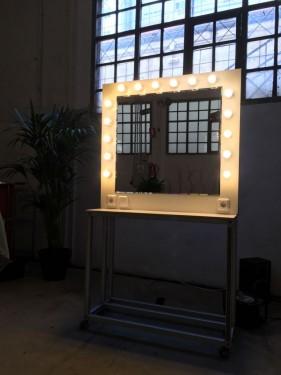 Alquiler de espejos tocador de maquillaje con luz - Tocador con luces ...