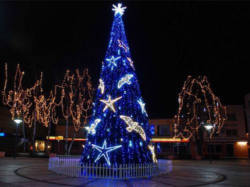 arboles gigante sde navidad en sevilla