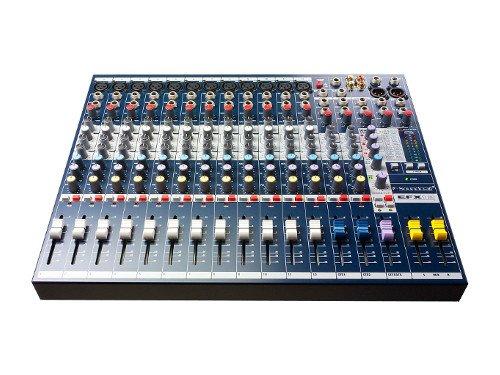 Alquiler de mesas de mezclas de 12 canales Soundcraft EFX