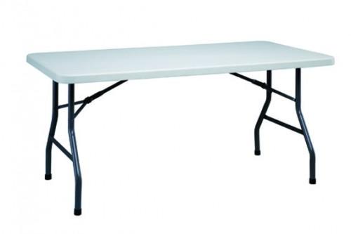 alquiler de mesas plegables rectangulares de 150x75