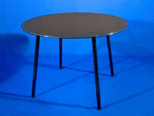 Alquiler mesas redondas de cristal negro para eventos - Mesas redondas cristal ...