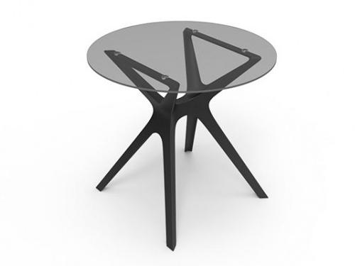 Alquiler mesas redondas de cristal - Mesas cristal redondas ...