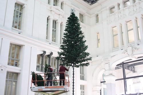 Alquiler de rboles de navidad gigantes para exteriores - Arbol de navidad exterior ...