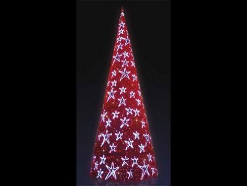alquiler de rboles de navidad rojos de m de altura