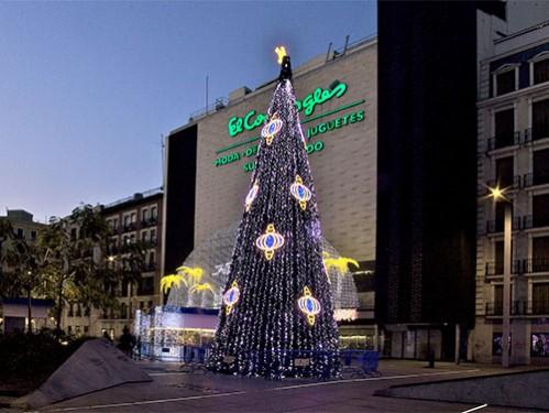 Alquiler de rboles de navidad para exterior de 15 metros for Decoracion navidena para exteriores