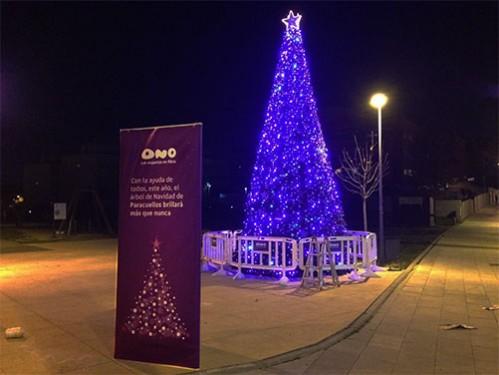 Alquiler de rboles de navidad de 7 metros para exteriores Luces navidad exterior sin enchufe