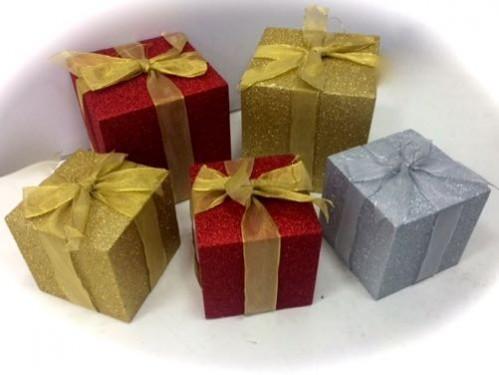 alquiler regalos decorativos de navidad