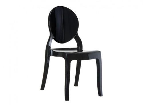 Alquiler de sillas de diseo negras modelo Dream