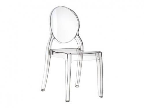Alquiler de sillas de metacrilato transparente modelo Dream