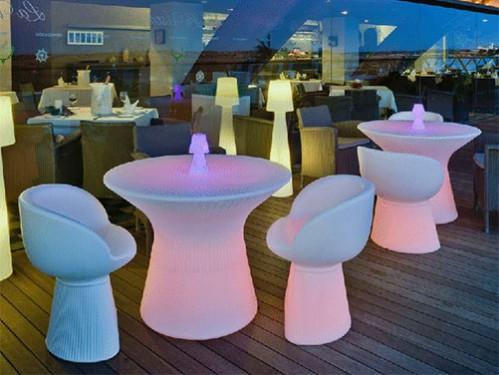 Alquiler sillones iluminados