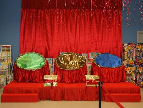 Alquiler de tronos de reyes magos modelo tulipa real for Decoracion para reyes